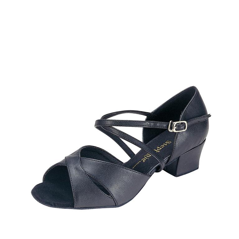 Stephanie Dance Shoes 16003-11X Black Leather