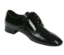 E600816, Men's Black Patent Leather Clearance