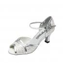 GO1005, Silver Glitter / Silver Trim